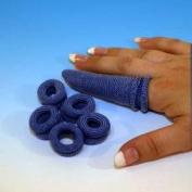 Blue Acetate Finger Bobs, x 6