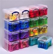 0.14 litre RANDOM COLOURS Really Useful Organiser Pack storage set *MEGA DEAL 1 FOR £15*