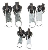 Beauty*Top*Picks Universal Instant Zip Replacement Fixer FIX A ZIPPER Clothes Bags 6pcs