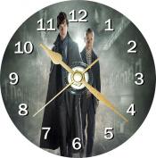 Sherlock Benedict Cumberbatch Novelty Cd Clock + Free Desktop Stand