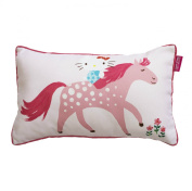 HELLO KITTY Designers Guild Pony Pastures Pink Pony Bedding, duvet and pillow case bed set