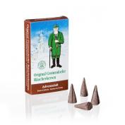 Crottendorfer 1015 Original Incense Cones 'Advent Scent' 24 Pieces - Size M