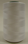 Multipurpose Organic Cotton Sewing Thread - White - 5,000 Metre Cone