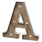 Vintage Illuminated Carnival Lights - A-Z - Choice of Alphabet Letters