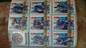 Match attax 2015 2016 Leicester City Full base team, Club Badge and Star Player 18 Cards