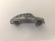 Saab 96 3D car pewter effect moblie phone charm ref216