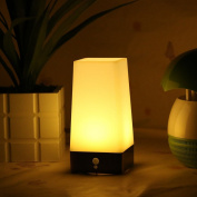 Kuantum Motion Sensor Night Light for Bedroom / Bathroom, Battery Powered LED Kids Baby Nursery Lamp