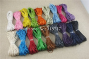 180y 18 Colours 1mm Waxed Cotton Cord Jewellery Fashion DIY Cords