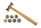 Texturing Hammer w/ 7 Interchangeable Faces Jewellery Forming Tool
