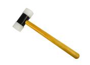 Nylon Hammer 2.5cm - 1.3cm Face Hammer w/ Removable Heads for Jewellery Making