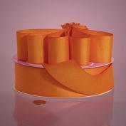 Cords - 1ea - 7.6cm X 25yd Torrid Orange Grosgrain Ribbon