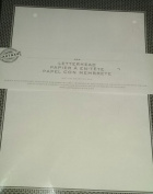 Black + Silver Letterhead (Papier a En-tete)