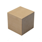 5.1cm Wood Blocks, Unfinished Natural Hardwood