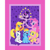 My Little Pony Pyramid Micro Fleece No Sew Throw Kit