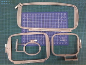 Embroidery machine hoop set sewing hoop frame brother PE-700 PE-700II PE-750D