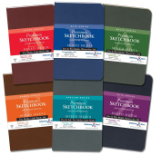 Alpha-Zeta Softcover Sketchbook 3.5X5 6Pk