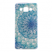 For Galaxy A3 Case, for Samsung Galaxy A3 TPU Case, EC-Touch Fashion Style Colourful Painted Design [Ultra Slim][Perfect Fit][Scratch Resistant] Soft Case Back Cover Protector Skin For for Samsung Galaxy A3