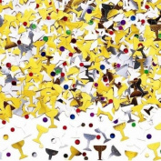 Amscan International Champagne Toast (Champagne Glasses) Table Confetti Sprinkles 14g