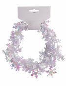 Forum Novelties 2.7m Mini Snowflake Wire Garland