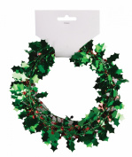 Forum Novelties 2.7m Mini Holly Wire Garland