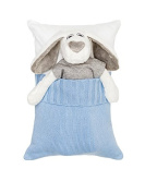Milo and Lilirose Sleeping Cushion, Blue