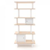 Oeuf Vertical Mini Library - Birch (Box 2), White
