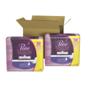 Poise Ultimate Absorbency Pads, Long, 90 Count