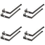 UNV08173 - Universal Adjustable Cubicle Hangers, 4 Packs