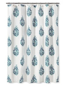 Blue/Green Paisley Shower Curtain