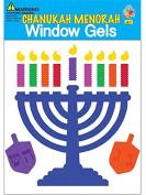Hanukkah Menorah Window Gel Stickers
