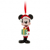 Disney Parks Santa Mickey Mouse Christmas Ornament