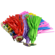 Meanhoo Feather Kicking Shuttlecock Sport Foot Exercise Competitive Game Toy Foot Exercise Colours good for your health Outdoor