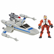 Hero Mashers Star Wars The Force Awakens X-Wing and Resistance Pilot