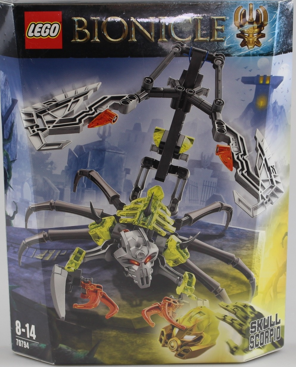 Lego Bionicle 70794 Skull Scorpio Action Figure By Shop Online For Toys In Australia