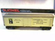 Lionel 19508 Leonardo Da Vinci Woodside Reefer Car O Gauge Train
