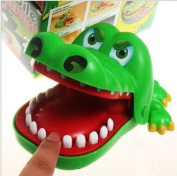 New Crocodile Mouth Dentist Bite Finger Game Funny Toy with keychain Best Xmas Gift for Child