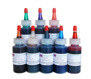 Resin Obsession transparent colour pigments - complete set of eight colours