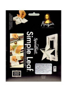 Mona Lisa Simple Leaf silver pack of 18 sheets [PACK OF 2 ]