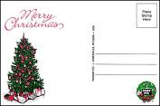 "Post-Pix Peel & Stick Photo Postcards by Romar ""Merry Christmas"""