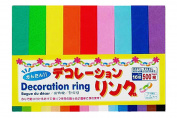 500 pcs Paper Strips for Decoration Ring Paper Loops