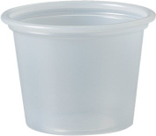 Solo Plastic 30ml Clear Portion Container for Food, Beverages, Crafts