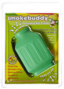 Green smokebuddy Jr Personal Air Filter
