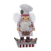 Kurt Adler Hollywood Santa Gingerbread Chef Nutcracker, 30cm