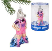 Accoutrements Lederhosen Unicorn Ornament