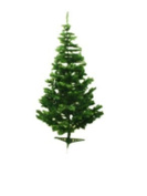 Holiday Essence 1.2m Green Artificial Christmas Tree - 300 Tips - with PVC Base - Unlit