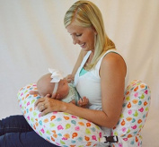The NEW One Z Nursing Pillow w/ AMAZING BACK SUPPORT - MADE IN THE USA- WATERPROOF