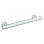 Sterling Plumbing 80001024-V 60cm Straight Bar with Narrow Grip, Matte Silver