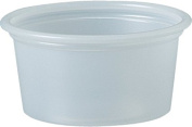 Solo Plastic 20ml Clear Portion Container for Food, Beverages, Crafts