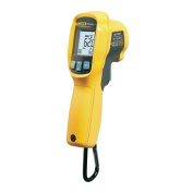 Fluke 62 MAX Plus Infrared Thermometer, AA Battery, -20 to +1202 Degree F Range