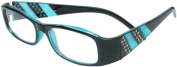 About Eyes G320 Blue Reading Glasses - Strength + 1.00 with Pouch
